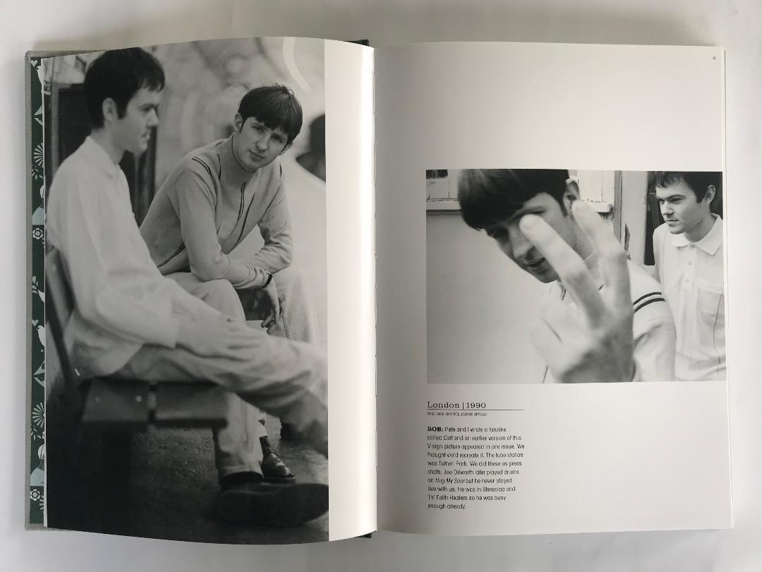 Saint Etienne Photo Book Unsigned Edition Saint