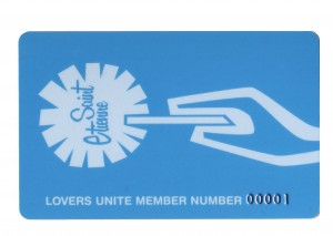 Saint Etienne Fanclub Card