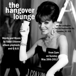 The Hangover Lounge Flyer