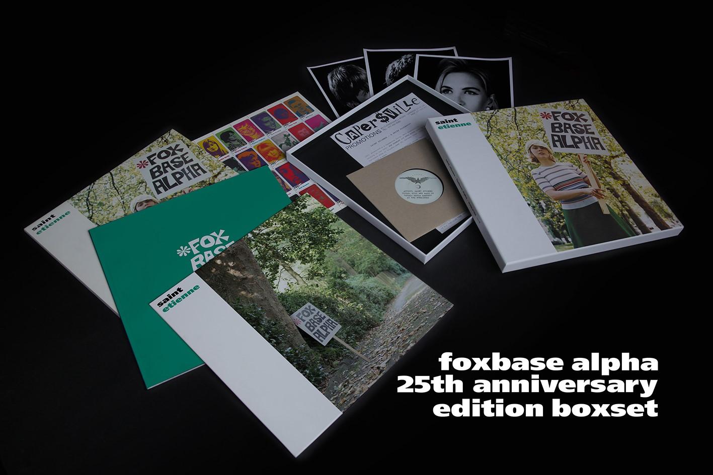 Saint Etienne Foxbase Alpha 25 Anniversary Boxset