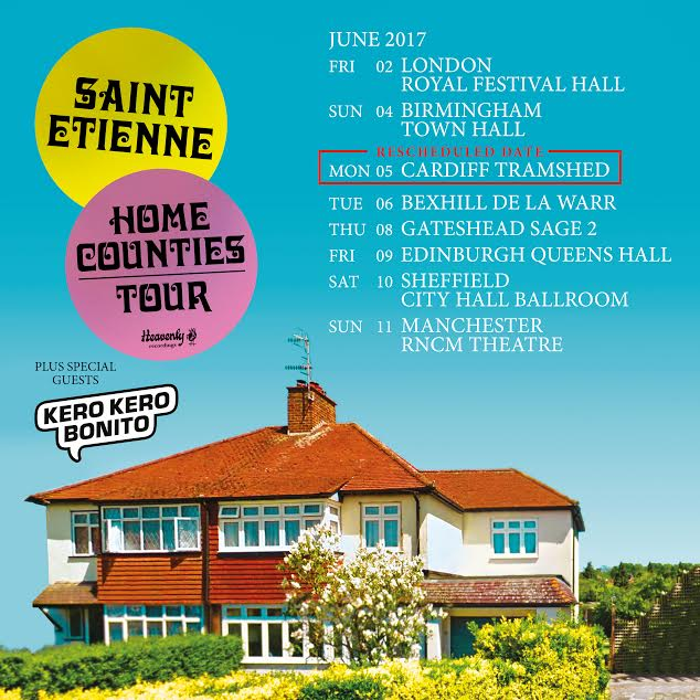 Saint Etienne UK tour dates