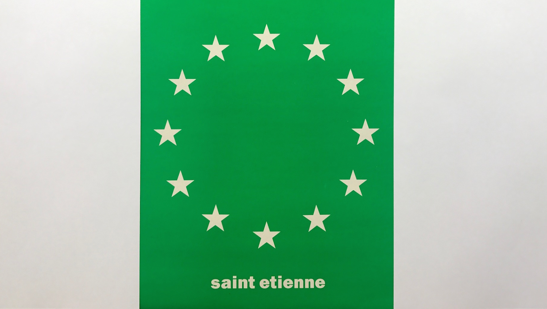 Sait Etienne Euro Flag