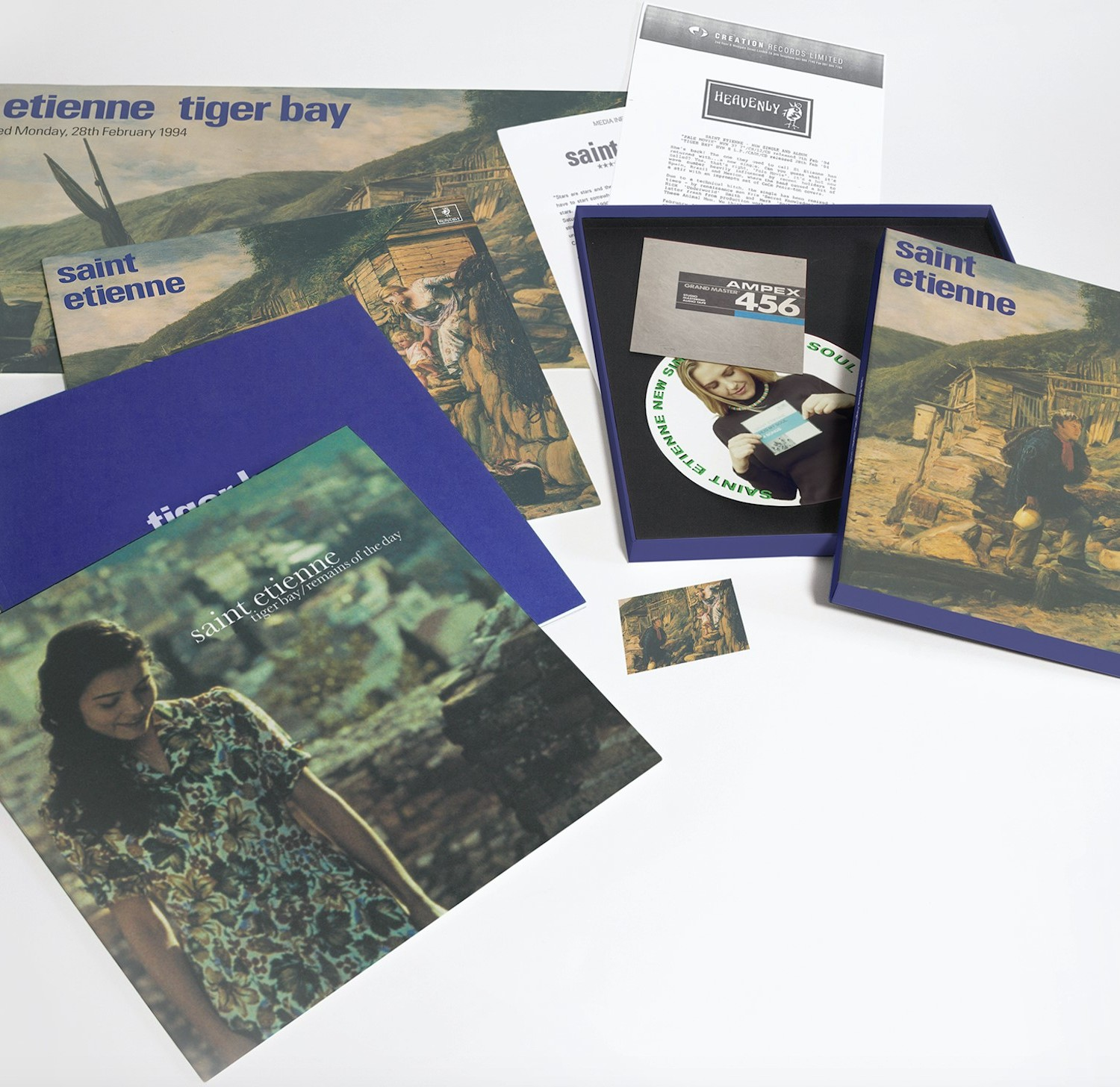 Saint Etienne - Tiger Bay Boxset - Exploded Packshot