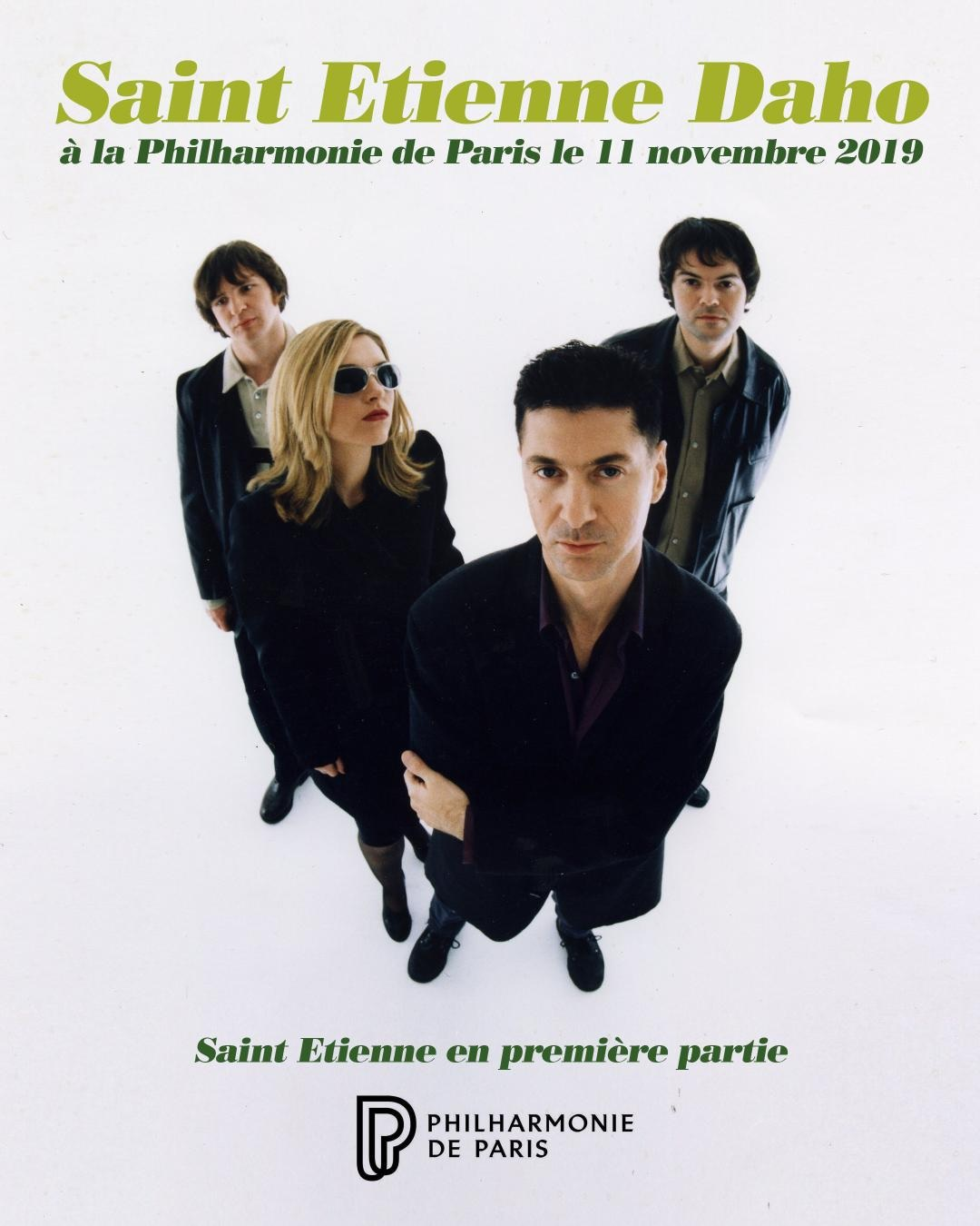 SSaint Etienne support Etienne Daho in Paris
