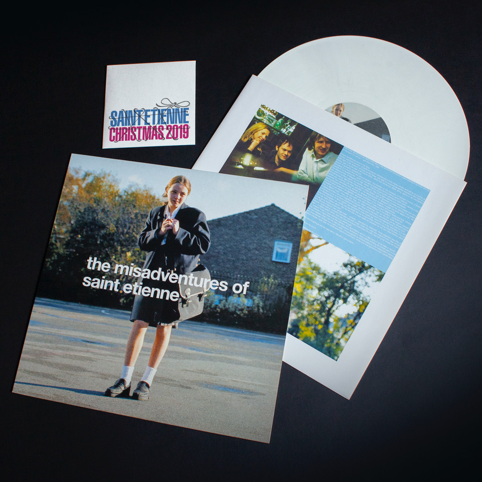 Limited Edition re-press of Misadventures Of Saint Etienne o