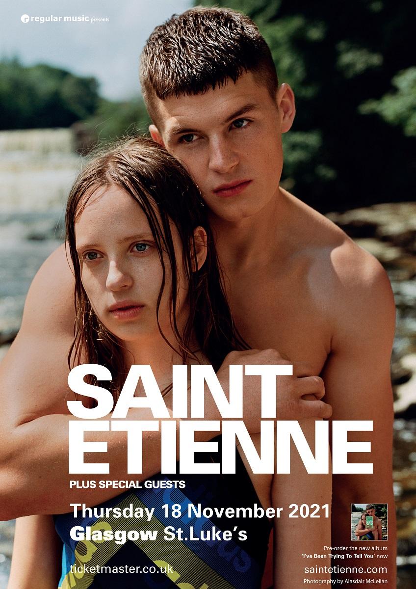 Saint Etienne play Glasgow St Lukes 18 November 2021