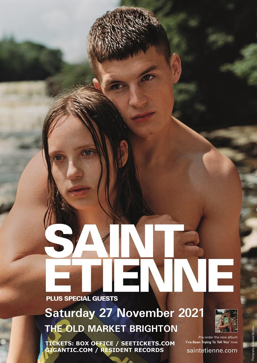 Saint Etienne play Hove Old Market 27 November 2021