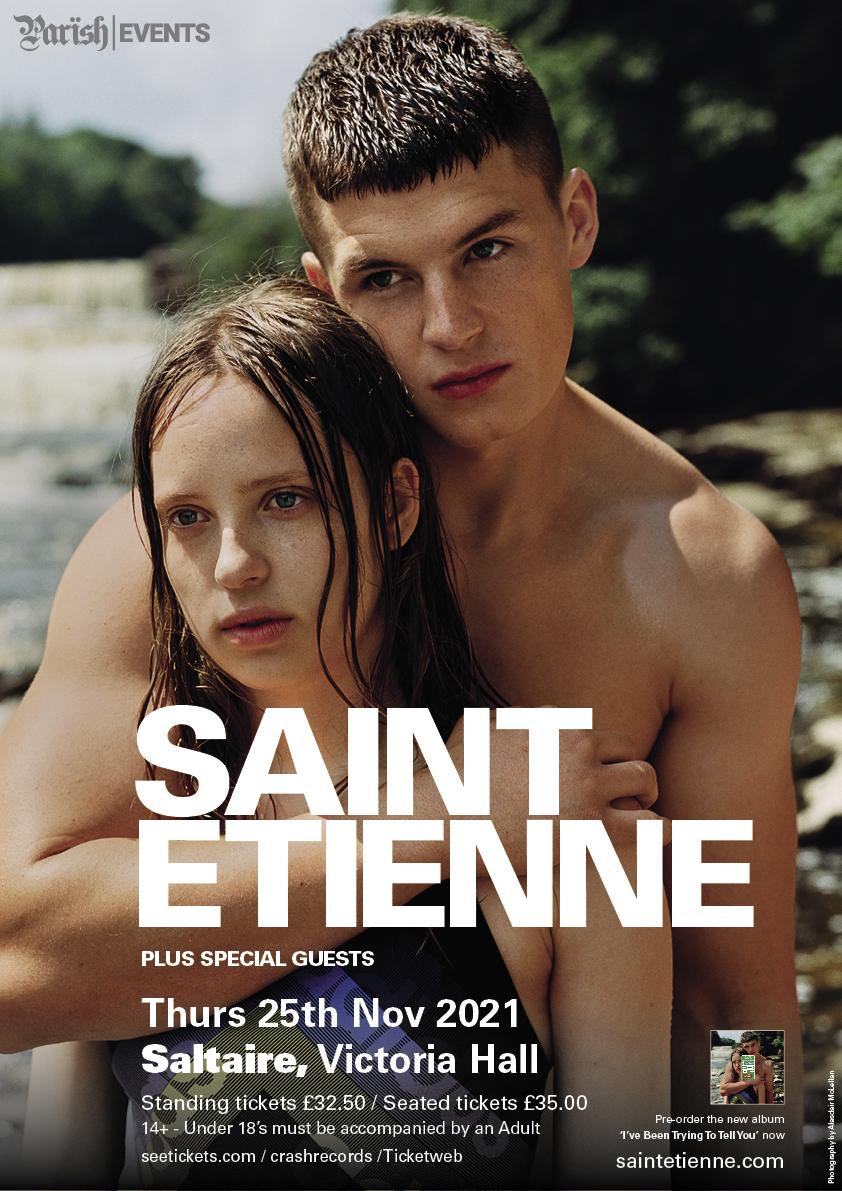 Saint Etienne play  Saltaire Victoria Hall 25 November 2021