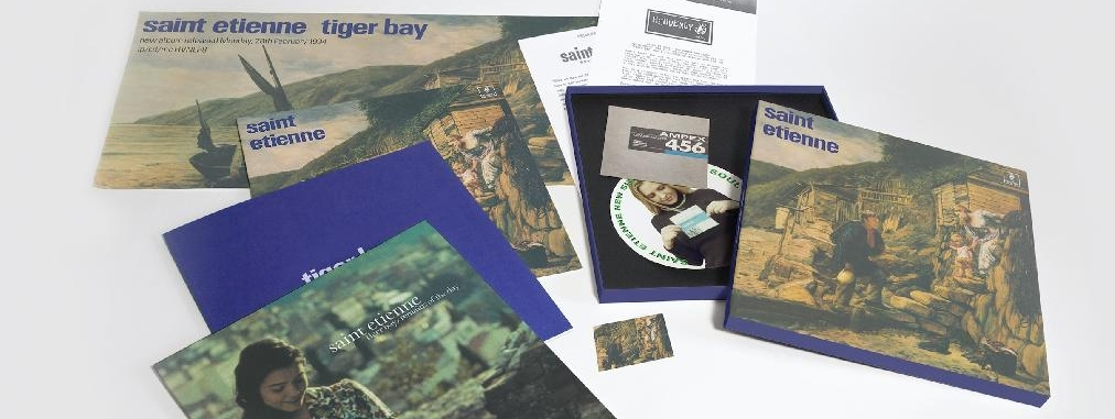 TIGER BAY - The 25th Anniversary Boxset